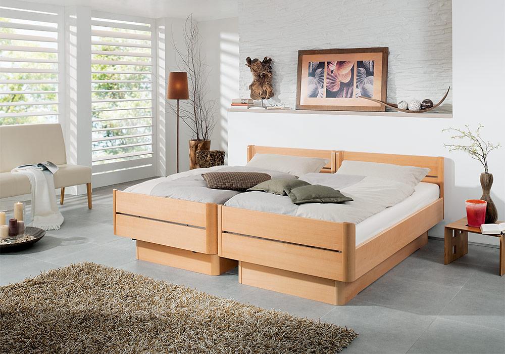 Komfortbetten kirchner komfortbetten for Komfortbett holz